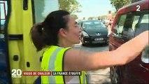 Spéciale Canicule: Sous la chaleur les vacanciers souffrent sur les routes mais également les animaux dans les refuges