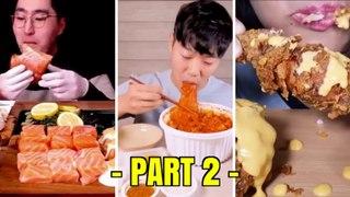 PART 2 | NEW MUKBANG ASMR EATSS.!! New Mukbang Compilations ASMR EATS Eating Show Foods PART 2