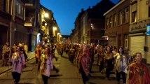 Le cortège des feux de la Saint Jean à Mons Vidéo Eric Ghislain
