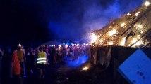 Les feux de la Saint Jean à Mons Vidéo Eric Ghislain