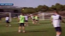 La volée magique de Steven Gerrard à l'entraînement des Rangers