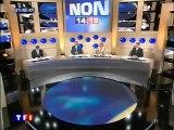 """TF1 - 29 Mai 2005 - Teaser, pubs, début """"Référendum 2005"""" (PPDA, Claire Chazal)"""