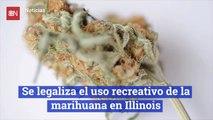 Se legaliza el uso recreativo de la marihuana en Illinois