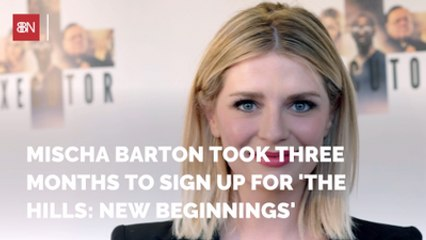 Mischa Barton Wasn't Sure She Wanted To Be on This TV Show
