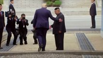 La minute historique où Donald Trump est devenu le premier Président américain à entrer en Corée du Nord