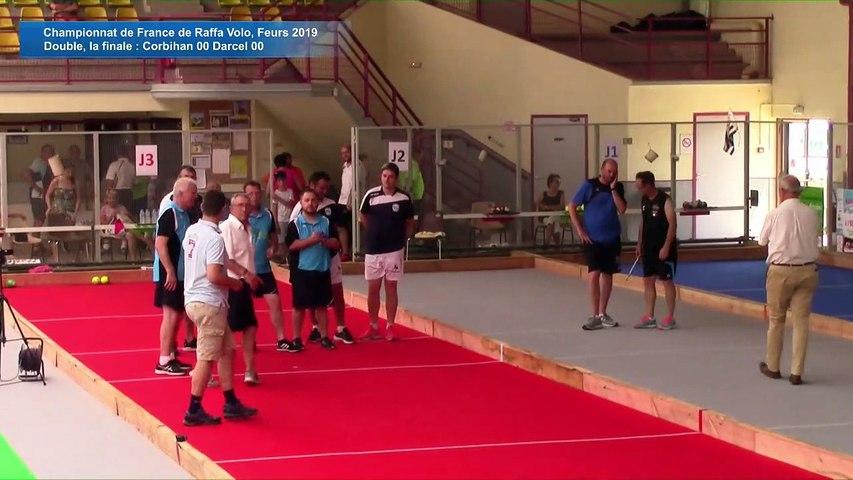 Double, finale , France Raffa Volo, Feurs 2019