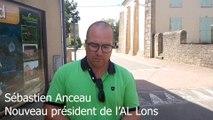 Les premiers mots de Sébastien Anceau, nouveau président de l'AL Lons