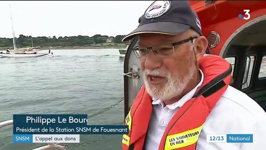 Sauveteurs en mer :  l'appel aux dons est-il suffisant ?