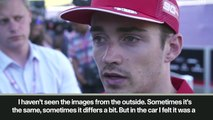 (Subtitled) 'It's pretty clear' Leclerc says Verstappen broke F1 rules at Austrian GP to win