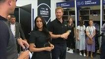 Prinz Harry und Meghan Markle besuchen Baseball-Spiel in East London