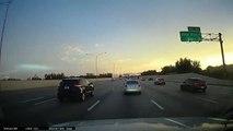 Un conducteur très habile évite un grave accident