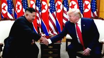 Trump, first US president to set foot in North Korea
