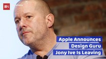 Apple Loses A Legend: Jony Ive To Exit
