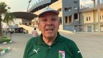 Ammi Abdelkader (72 ans) le doyen des suporters algériens en Égypte !