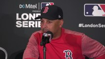 Alex Cora reaction Red Sox 8-12 Yankees