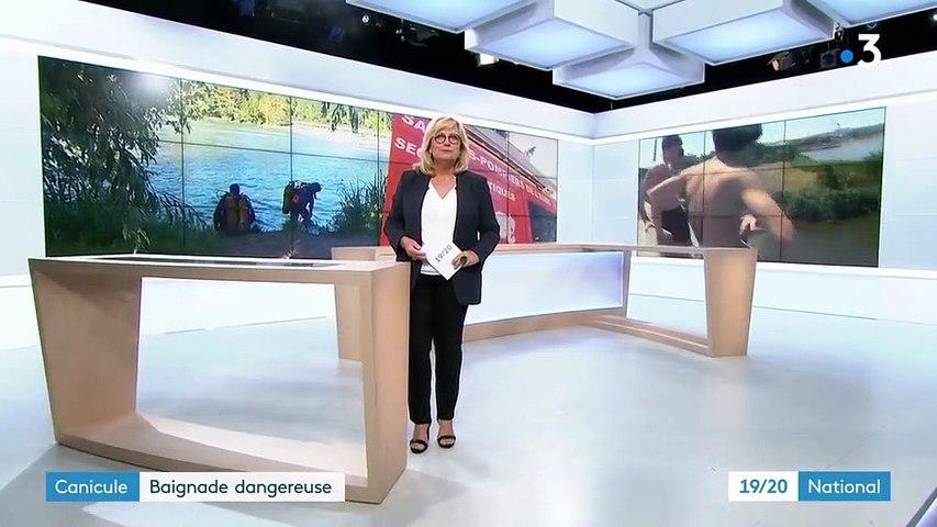 Canicule : plusieurs drames après des baignades dangereuses