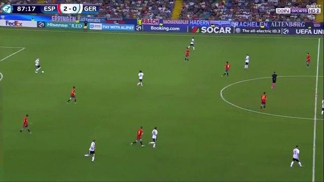 Amiri amazing goal - Spain U21 2-[1] Germany U21