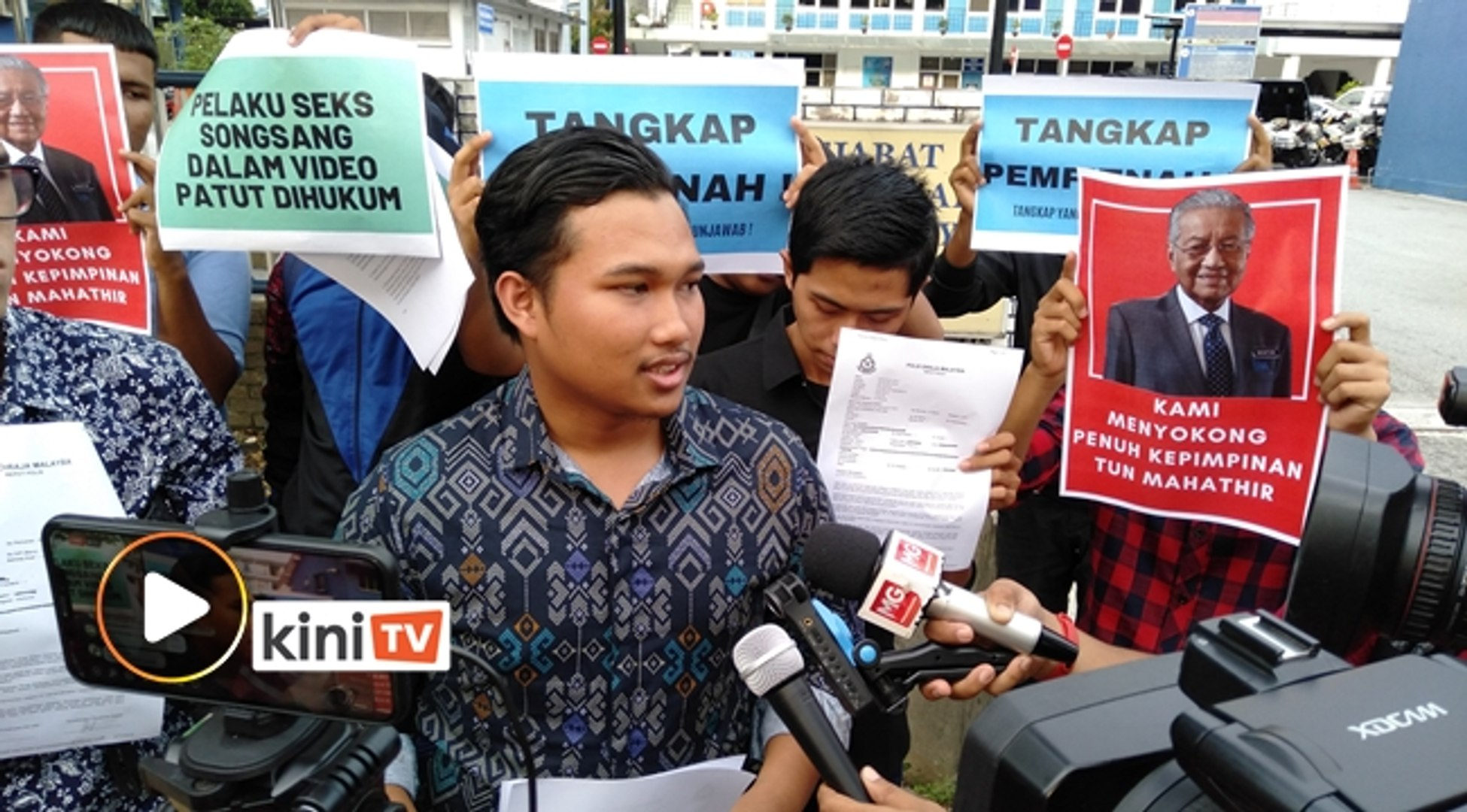 NGO lapor polis terhadap Azmin