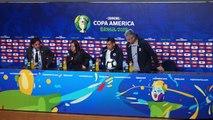 Chile speak ahead Copa America semi-finals against Peru