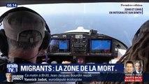 À bord de son avion, il est l'un des derniers observateurs à survoler le les côtes libyennes à la recherche des bateaux de migrants
