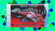 Full E-book  Large Print Dot-to-Dot Sea Life- Puzzles from 133 to 433 Dots: Easy to Read Connect