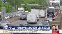 Les véhicules Crit'Air 4 et 5 sont désormais interdits dans Paris