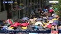 À Hong Kong, des manifestants tentent de pénétrer dans le Parlement