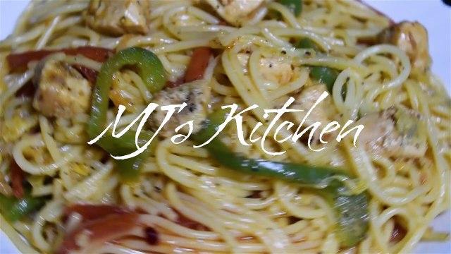 Chicken Chow mein - Recipe in Urdu