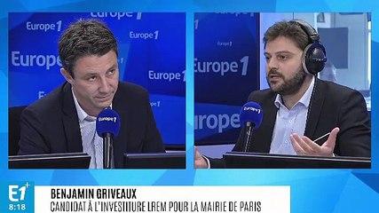 Benjamin Griveaux - Europe 1 lundi 1 juillet 2019