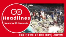 Top News Headlines of the Hour (01 July, 01 PM)