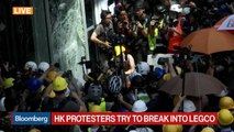 Protesters Try to Break Into Hong Kong Legislature