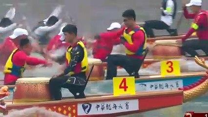 China's dragon boat race makes waves in Jianyang
