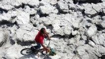 Mexique : deux mètres de glace au mois de juin