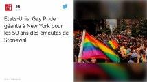Cinquante ans après Stonewall, Gay Pride géante à New York contre la montée des extrêmes