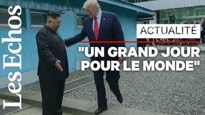 La télévision d'Etat nord-coréenne emballée par la rencontre Donald Trump - Kim Jong-Un
