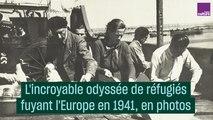 L'incroyable odyssée de réfugiés fuyant le nazisme en 1941 en photos
