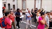 Strasbourg: concert de casseroles devant le rectorat le jour du brevet
