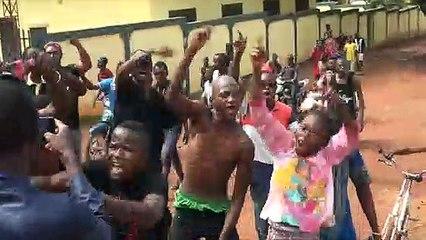 Kankan : manifestation des jeunes contre le vol de carburant à l'EDG (vidéo)