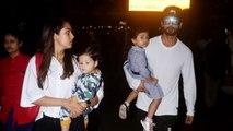 Shahid Kapoor With Family Return From Holiday
