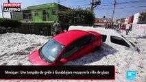 Mexique : Une tempête de grêle à Guadalajara recouvre la ville de glace (vidéo)