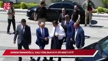 İBB Başkanı Ekrem İmamoğlu, Vali Yerlikaya'yı ziyaret etti