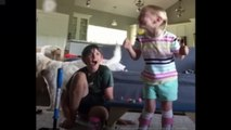 4-year-old Maya (AKA Mighty Miss Maya), who has cerebral palsy, takes first steps on her own