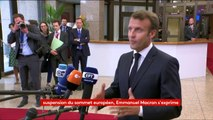 """""""Notre crédibilité est profondément entachée avec ces réunions trop longues qui n'aboutissent à rien"""", déclare Emmanuel Macron"""