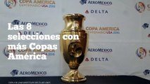 Las 8 selecciones con más Copas América