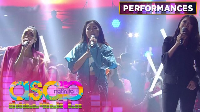 "Color It Red sings their hit song ""Paglisan"" with Jona and Yeng 