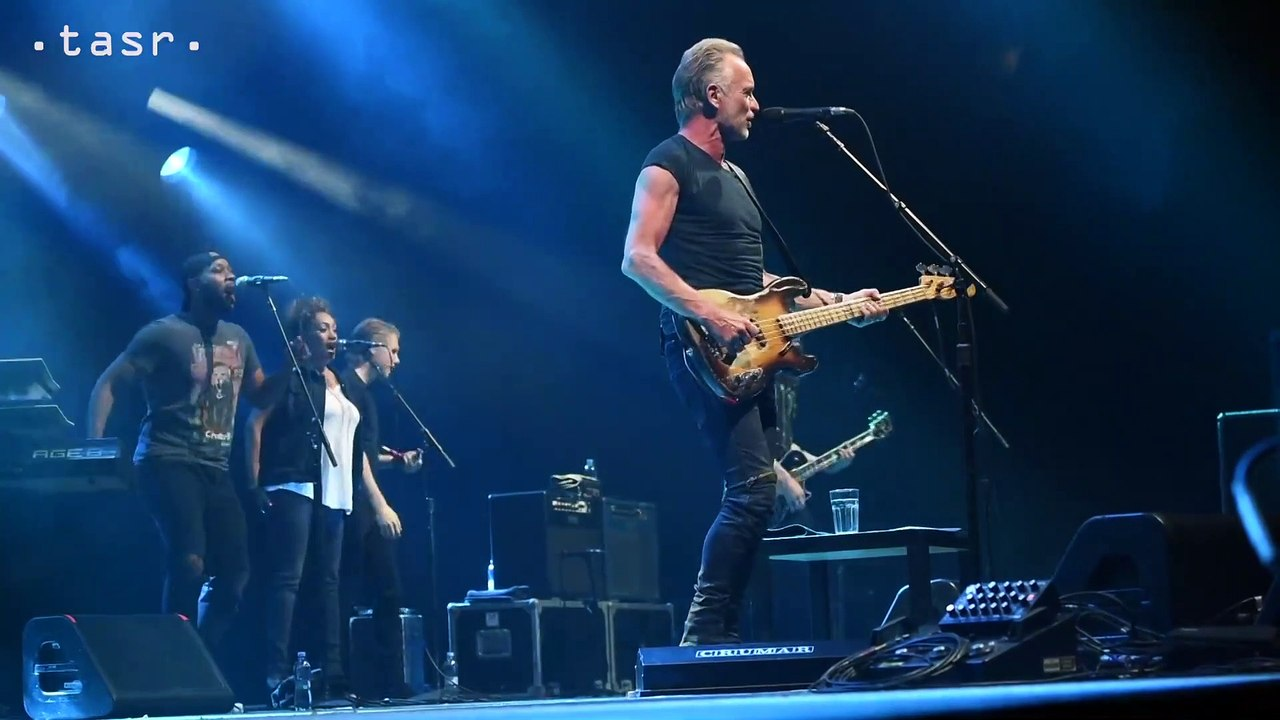 Sting vystúpil už po siedmykrát v Bratislave