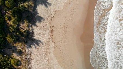 Ocean footsteep