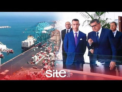Le Prince Moulay El Hassan inaugure le port Tanger Med II