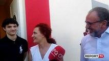 I biri shoqëron Dritan Lelin në votime: Kënaqësi që në fletë ishte dhe emri i babait tim