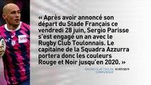 Parisse s'engage avec le Rugby Club Toulonnais